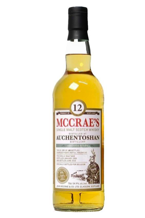 Whisky Mc Crae's Auchentoshan 12 years - Single Malt Single Cask - Cask Strength - 54,90% - 70 cl