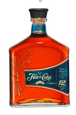 Flor de Caña Rum Centenario 12y - 70 cl - 40°