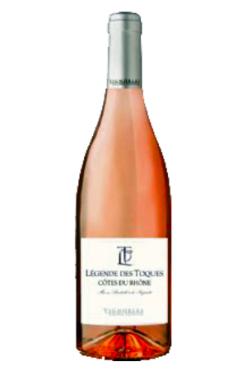 Vignerons de Beaumes de Venise Légendes Des Toques Rosé 2018 – Cotes du Rhone AOC